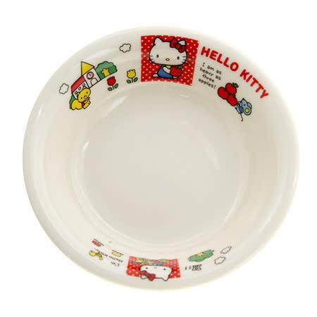 日本金正瓷器 KITTY輕瓷沙拉盤