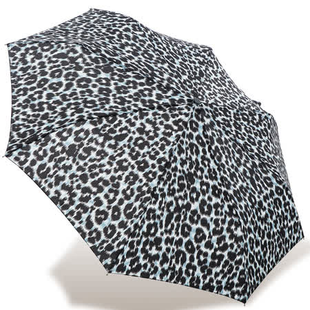 【rainstory】都會豹紋抗UV隨身自動傘