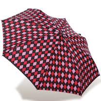 【rainstory】英倫菱格抗UV隨身自動傘