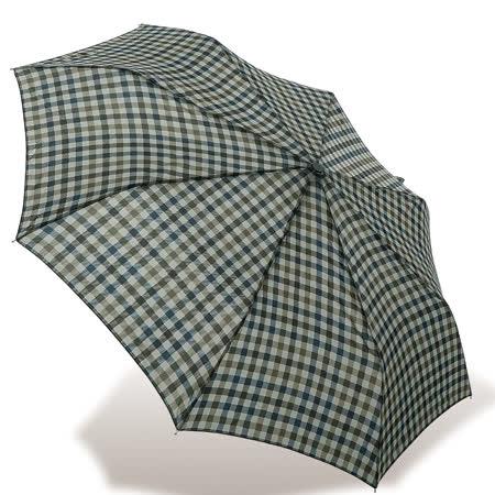【rainstory】都會格紋抗UV隨身自動傘