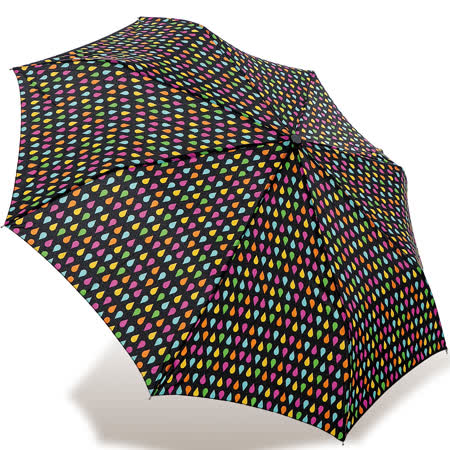 【rainstory】亮彩雨點抗UV隨身自動傘