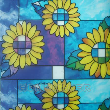 彩繪自黏窗貼-2入_YT-AP046