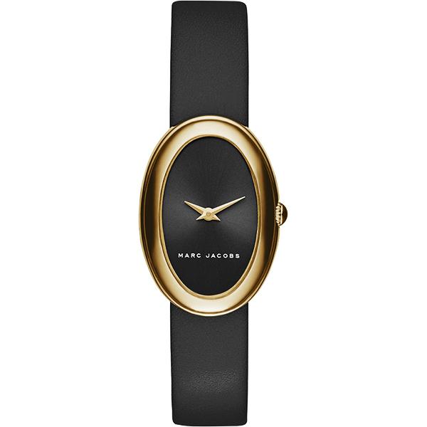 Marc Jacobs clcely 系列 女錶~黑x金框22mm MJ1454