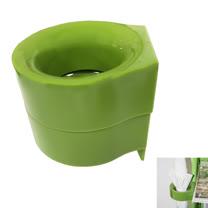 PUSH! 居家生活用品磁吸附式雨傘收納架收納盒I67-2綠色