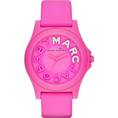 Marc by Marc Jacobs Sloane 活力經典品牌腕錶-粉/40mm MBM4023
