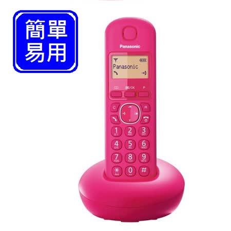 Panasonic DECT數位無線電話 KX-TGB210 (蜜桃粉)