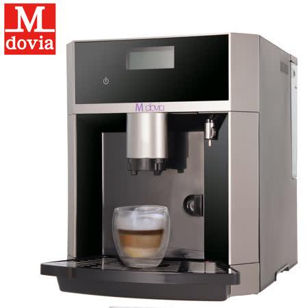 MDovia 全程自動化打奶泡 開放式功能 義式咖啡機【送兩組活水濾心】