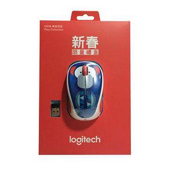 Logitech 羅技 新春現量版 M238 無線滑鼠 猴子