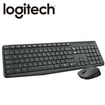Logitech 羅技 MK235 無線滑鼠鍵盤組 .