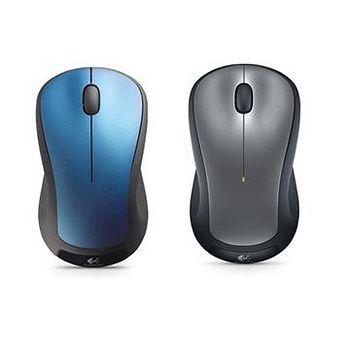 Logitech 羅技 M310t 無線滑鼠 黑藍 / 黑銀