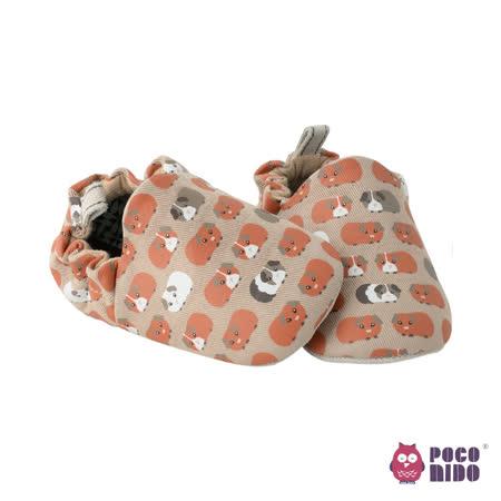 英國 POCONIDO 純手工柔軟嬰兒鞋 (天竺鼠)
