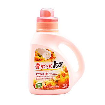 日本獅王香氛柔軟濃縮洗衣精900ml