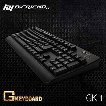 B.Friend GK1 G-Keyboard 有線防水遊戲鍵盤( 精裝彩盒版 ) 黑色 / 白色
