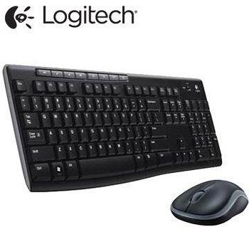 Logitech 羅技 MK270r 無線滑鼠鍵盤組 .