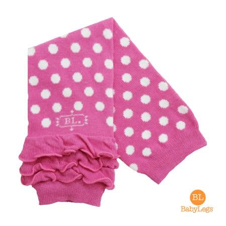 美國 BabyLegs 有機棉嬰幼兒襪套 (粉紅點點)