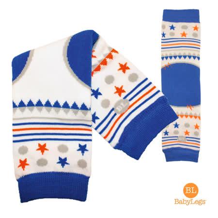 美國 BabyLegs 有機棉嬰幼兒襪套 (Kingsley)