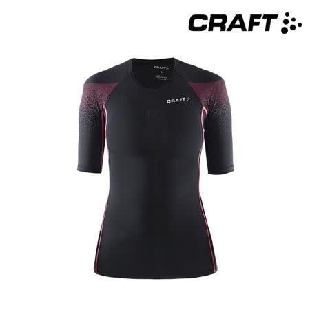 CRAFT 女款 壓縮短袖上衣1903229 (XS~M) / 城市綠洲 (肌肉壓縮.DELTA.慢跑.人體工學.瑞典品牌)