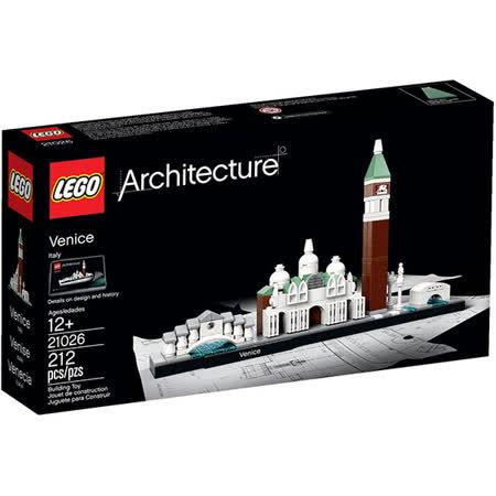 【LEGO樂高積木】建築系列-義大利威尼斯 Venice LT 21026