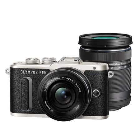 OLYMPUS E-PL8 +14-42mm EZ/40-150mm R 雙鏡組(EPL8,14-42/40-150,公司貨)送64G+原廠包+清潔組+保護貼+回函送原電+自動鏡頭蓋~