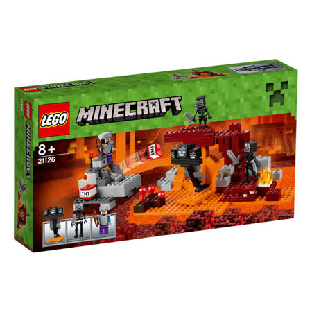 【LEGO樂高積木】Minecraft創世神系列-The Wither LT 21126