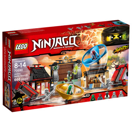 【LEGO樂高積木】Ninjago忍者系列-飛天忍者競技試煉場 LT 70590