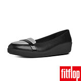 FitFlop™-(女款)F-POP™ LOAFER-黑/銀