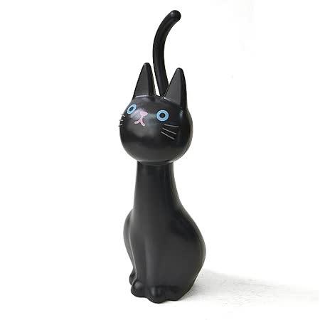 日本MEIHO 喵咪造型 馬桶刷 (黑色)