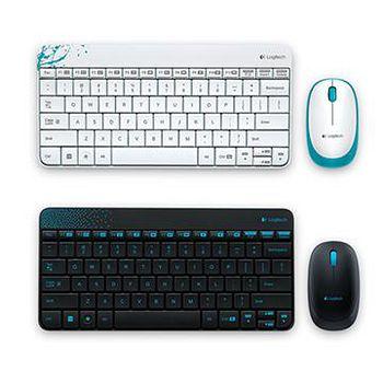 Logitech 羅技 MK240 無線鍵盤滑鼠組 白色 / 黑色