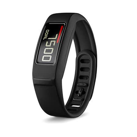 GARMIN Vivofit 2 運動健身手環 (黑)-【送防摔汽水瓶+USB隨身燈】