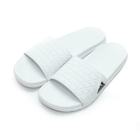 (男) ADIDAS 套式拖鞋 白 鞋全家福