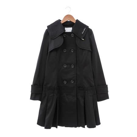 金安德森 風衣外套-黑