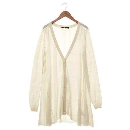 金安德森 針織外套-白