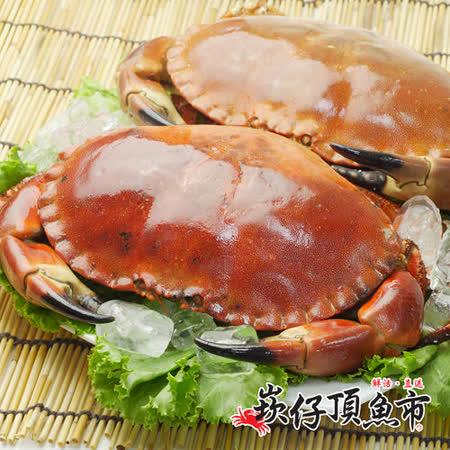 【崁仔頂魚市】英國霸王德文郡蟹(880g/隻)