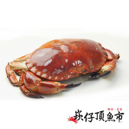 【崁仔頂魚市】英國霸王德文郡蟹2件組(880g/隻)
