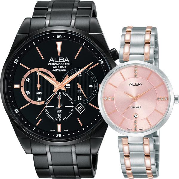 ALBA 專屬於你 東京情人對錶 VD53~X255SD VJ22~X236P^(AT3A