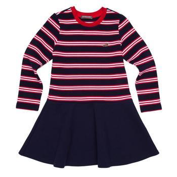 『小鱷魚童裝』拼接圓裙洋裝(08號~16號)530310
