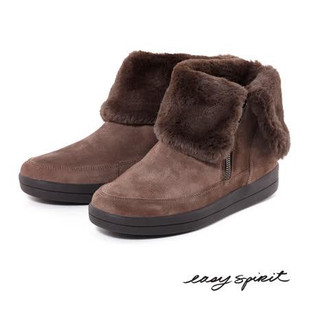 【勸敗】gohappy 購物網Easy Spirit--冬日毛料麂皮短靴--麂皮咖推薦板橋 新 遠 百
