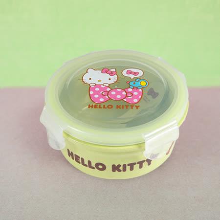 HelloKitty植物纖維餐碗(綠)
