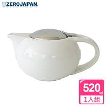【ZERO JAPAN】嘟嘟陶瓷壺(白)520cc