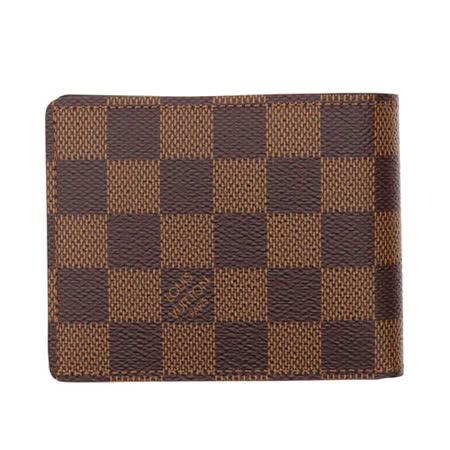 【好物分享】gohappyLouis Vuitton LV N61208 Slender 棋盤格紋雙折短夾_現貨價錢大 遠 百 happy go