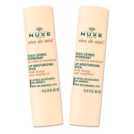 NUXE黎可詩 蜂蜜護唇膏隨身必備雙件組★原價780