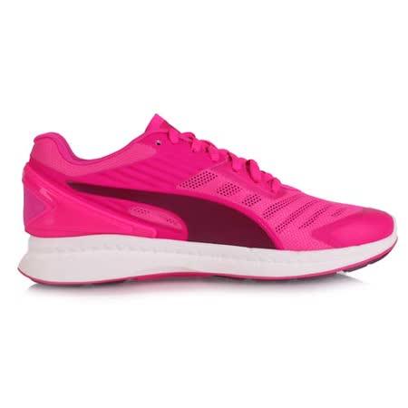 (女) PUMA IGNITE V2 慢跑鞋- 路跑 競走 螢光粉紫