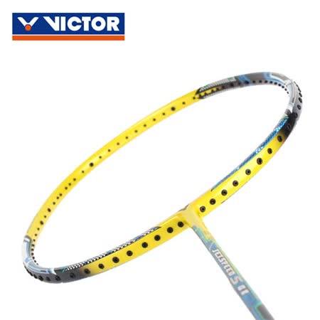 VICTOR 極速球拍-3U - 羽毛球拍 空拍 勝利 藍黃黑 F