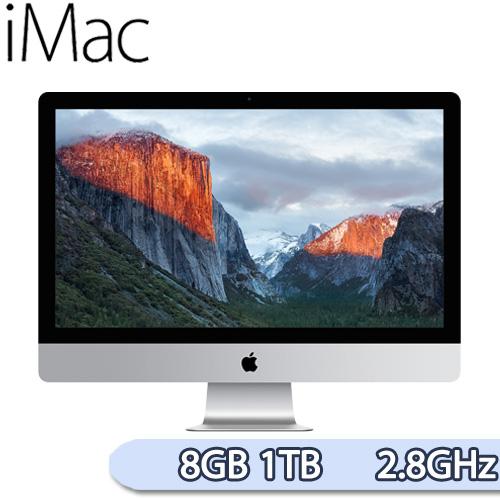 Apple iMac 21.5吋 8GB / 1TB / 2.8GHz 四核心 桌上型電腦(MK442TA/A)