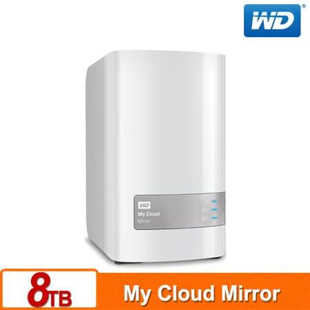 WD 威騰 My Cloud Mirror (Gen2) 8TB (4TBx2) 雲端儲存系統