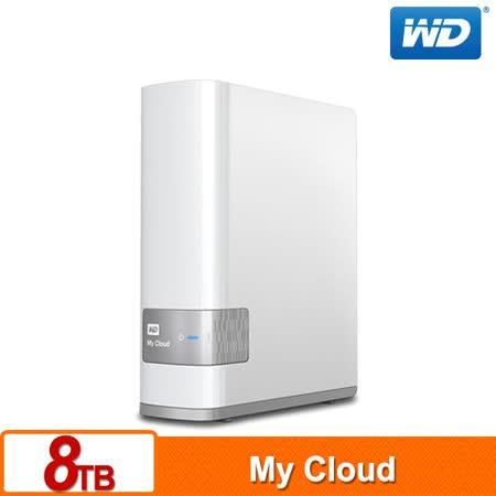 WD 威騰 My Cloud 8TB 雲端儲存系統