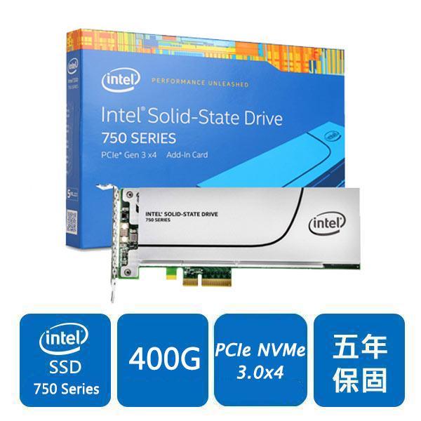 Intel英特爾 750系列 400G PCIe SSD固態硬碟