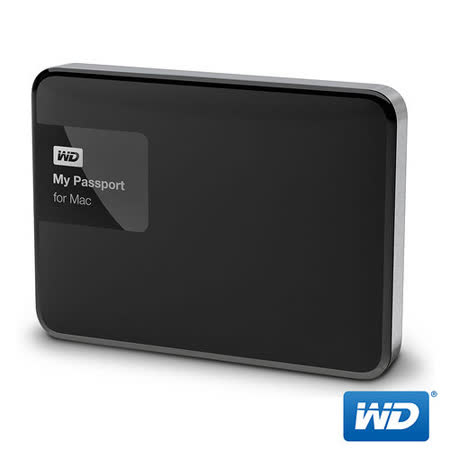 WD 威騰 My Passport for Mac 1TB 2.5吋行動硬碟