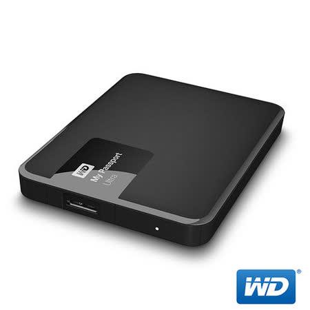 WD 威騰 My Passport Ultra 1TB 2.5吋行動硬碟 - 經典黑
