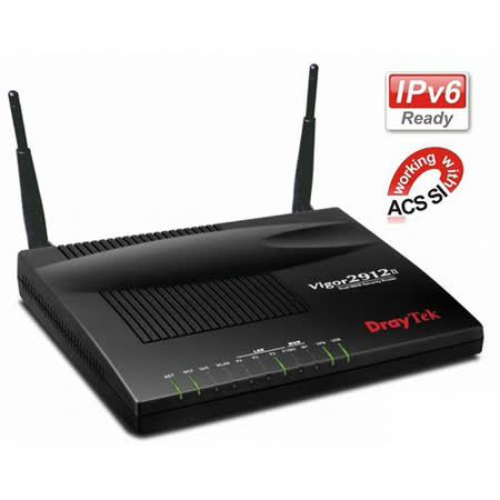 居易科技 Vigor 2912n 雙WAN無線寬頻路由器